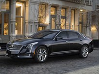 Cadillac Unveils CT6 Luxury Sedan in New York
