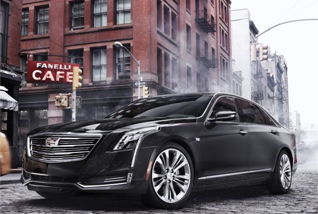 Photo of 2016 CT6 courtesy of Cadillac.