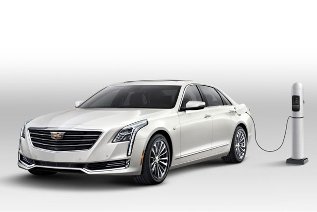Photo of the 2017 Cadillac CT6 Plug-In Hybrid courtesy of GM.