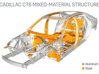 Cadillac CT6 Using Aluminum to Save 200 Pounds