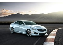 Cadillac Celebrates Heritage With CTS-V Glacier Metallic Edition
