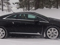 Cadillac ELR Undergoes Winter Weather Testing