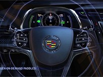 Cadillac ELR Paddle Shifters Give Driver Control Over Regenerative Braking