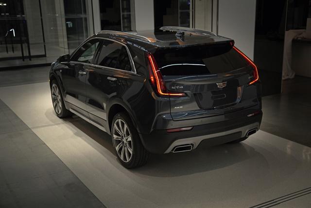 Photo of the 2019 Cadillac XT4 courtesy of General Motors.