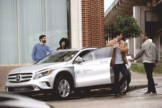 <p><em>car2go currently offers Mercedes-Benz vehicles in eight of its 11 North American locations. Photo courtesy of car2go</em></p>