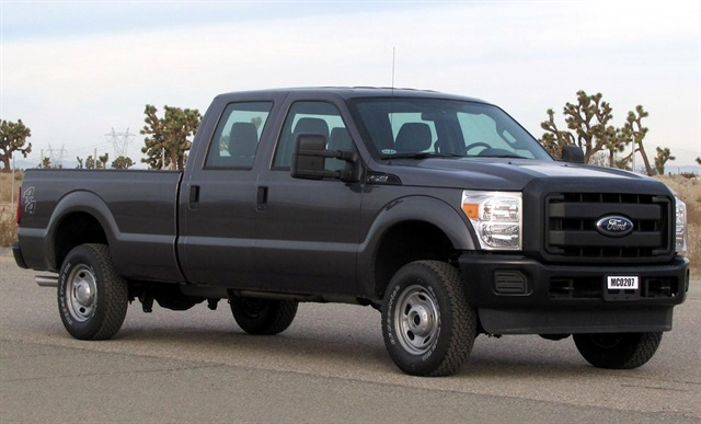 Photo of 2012 Ford F-250 SuperCrew via Wikimedia.