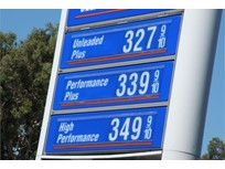 Gasoline Price Falls, But Higher Than Year Ago