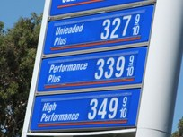 Gasoline Falls 6.6¢ to $3.29 a Gallon