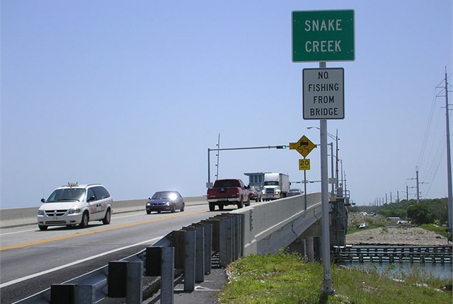 <p><em>Photo of the Snake Creek bridge in the Florida Keys via Wikimedia.</em></p>