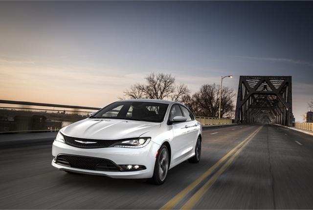 Photo of 2015 Chrysler 200 courtesy of Chrysler.