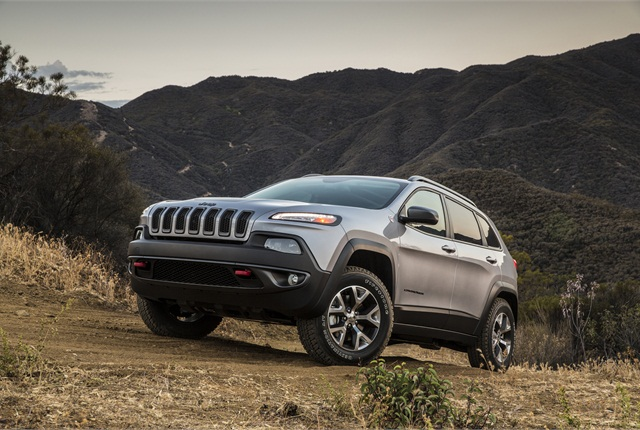 2014 Jeep Cherokee. Photo: Chrysler.
