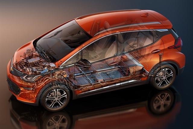 Photo of the Chevrolet Bolt EV courtesy of GM.