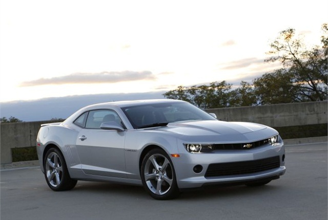 Photo of 2015 Chevrolet Camaro courtesy of GM.