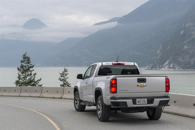 Winner for the Standard Pickup Segment is the Chevrolet Colorado. Photo courtesy of GM.