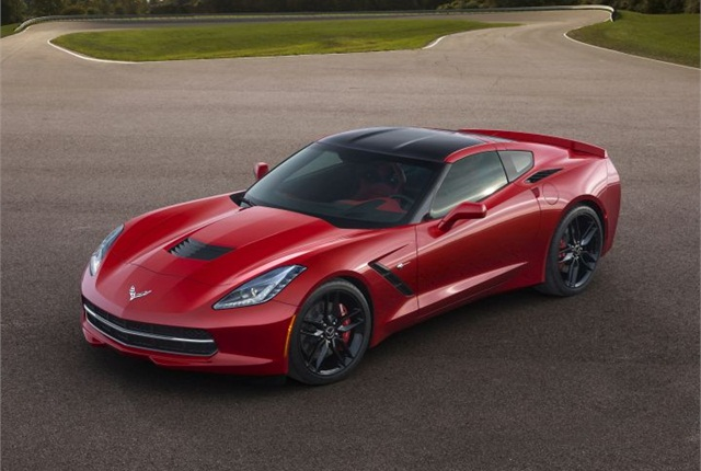 Photo of 2014 Chevrolet Corvette Stingray courtesy of GM.