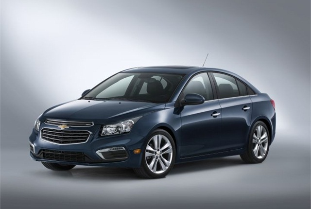 Photo of 2015 Chevrolet Cruze courtesy of GM.