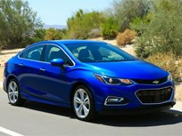 2016 Chevrolet Cruze Offers 42 MPG Highway