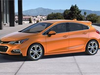 2017 Cruze Hatchback Starts at $22,190