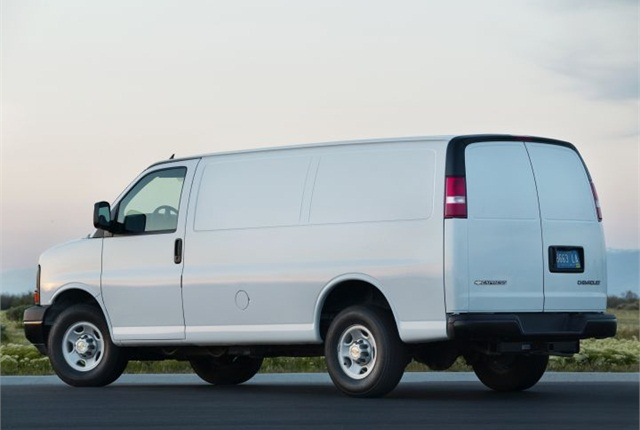 Photo of 2016 Chevrolet Express courtesy of GM.
