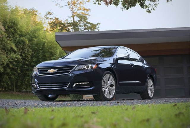 Photo of 2015 Impala courtesy of GM.