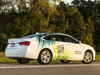 GM Delivers CNG Chevrolet Impala to Fleets