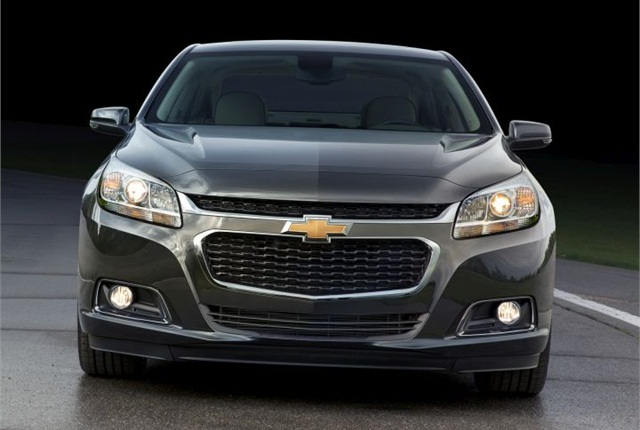 Photo of 2015 Chevrolet Malibu courtesy of GM.