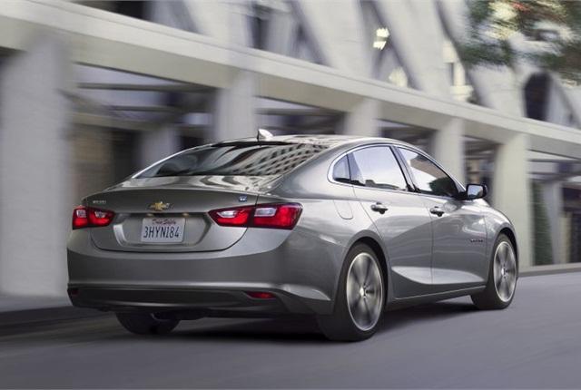 Photo of 2016 Chevrolet Malibu courtesy of GM.