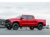 2019 Silverado Airlifted Into Texas Speedway