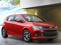 Chevrolet Updates Sonic's Infotainment, Styling for 2017