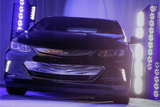 Photo of 2016 Chevrolet Volt courtesy of GM.