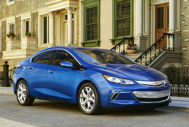 Photo of 2016 Chevrolet Volt courtesy of GM.