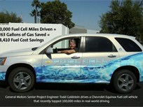 Hydrogen Chevy Equinox Reaches Fleet Mileage Milestone
