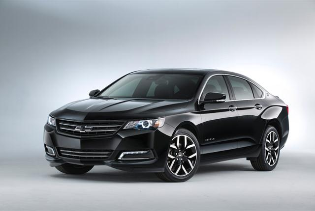 Photo of Chevrolet Impala courtesy of General Motors.