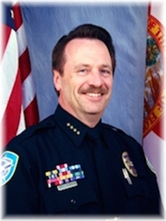 Award winner Police Chief Brett C. Railey of the Winter Park Police Department in Florida.