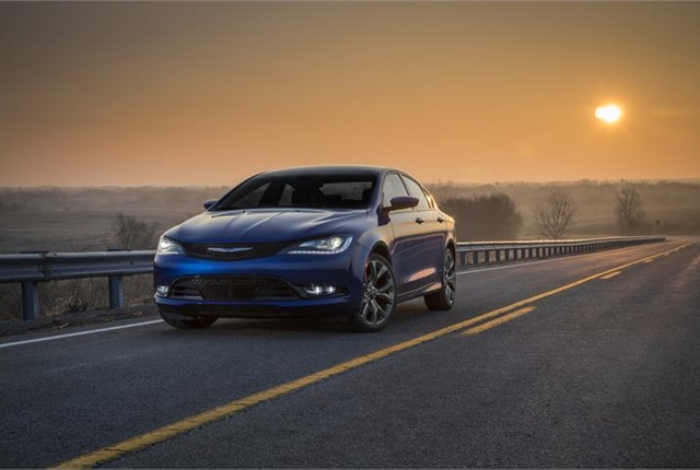 Photo of Chrysler 200 courtesy of FCA (Fiat Chrysler Automobiles).