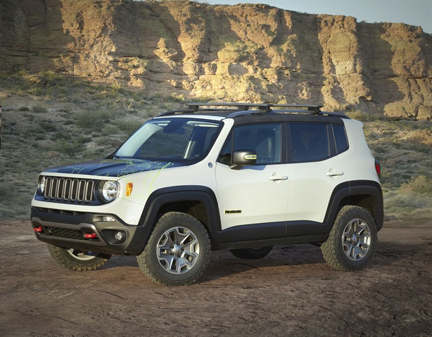 Jeep Renegade Commander Concept. Photo: FCA