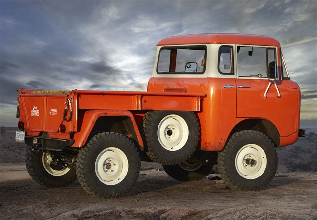 Jeep FC 150 Heritage Vehicle. Photo: FCA
