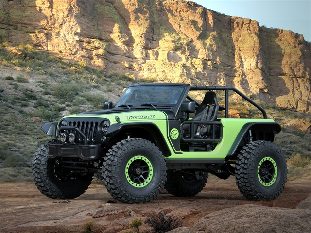 Jeep Trailcat Concept. Photo: FCA