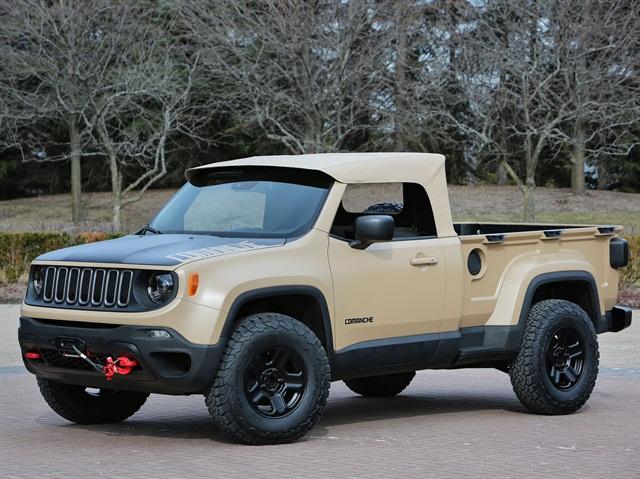 Jeep Commanche ConceptPhoto: FCA