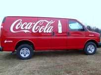 Coca-Cola Adds 100 Hybrid Delivery Vans