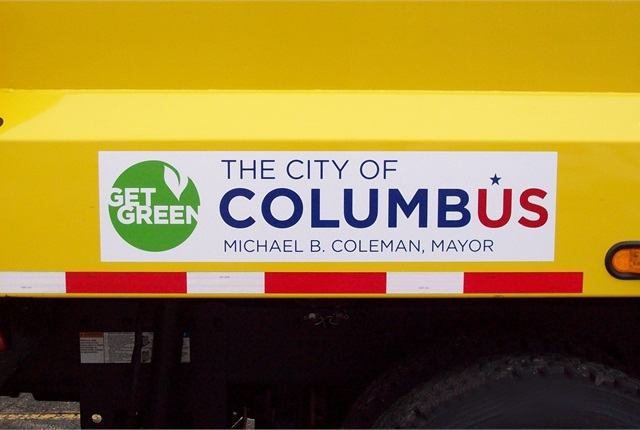 Columbus' Mayor Michael Coleman supports the City's efforts to add CNG-fueled vehicles
