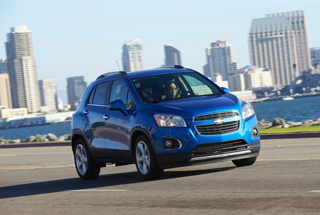 Photo of Chevrolet Trax courtesy of General Motors.