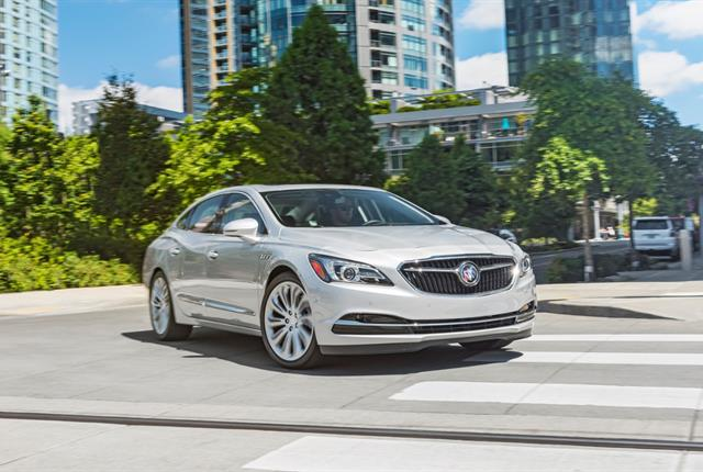 Photo of Buick LaCrosse courtesy of GM.