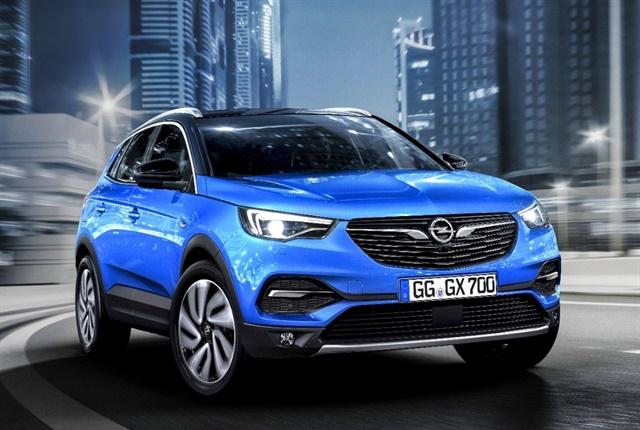 Photo of the Opel Grandland X courtesy of Opel.