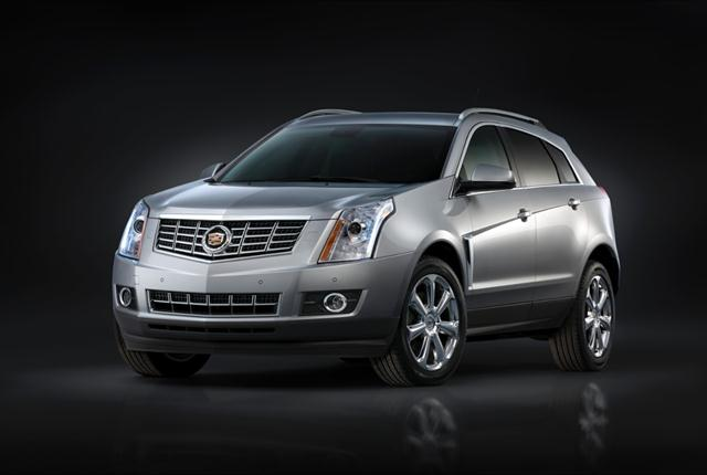 Photo of 2015 Cadillac SRX courtesy of GM.