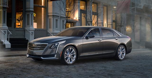 Photo of Cadillac CT6 courtesy of General Motors.
