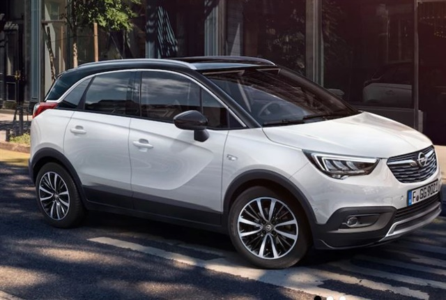 Photo of the Crossland X courtesy of Opel.