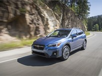 Subaru Crosstrek Earns Top Safety Pick+