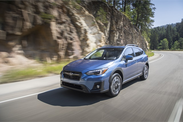 Photo of Subaru Crosstrek courtesy of Subaru.