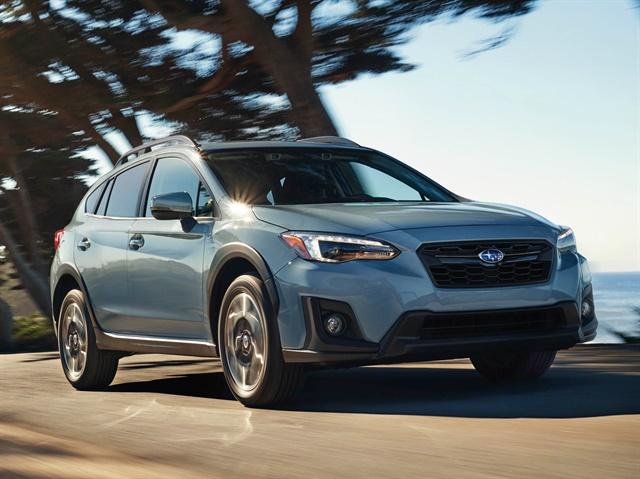 Photo of 2018 Crosstrek courtesy of Subaru.
